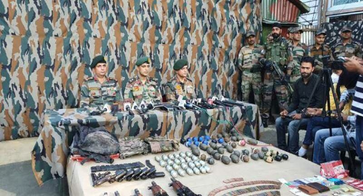 Indian Army Eliminates Three Terrorists In Jammu And Kashmir's Rampur Sector